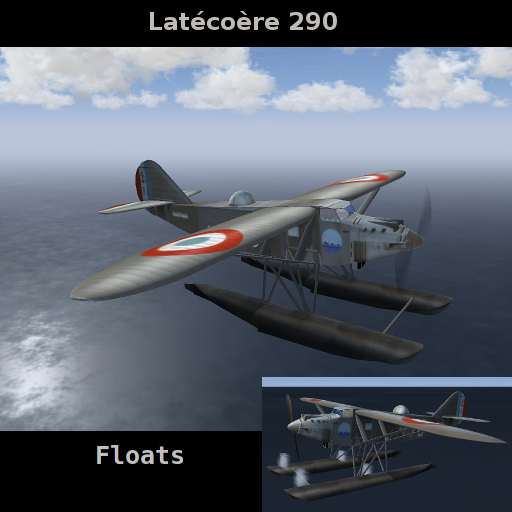FlightGear Addon - Latecoere 290 4T1.10 Escadrille 4T1 Berre screenshot 1