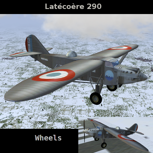 FlightGear Addon - Latecoere 290 4T1.10 Escadrille 4T1 Berre screenshot 2