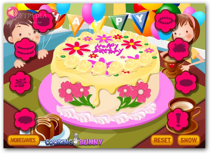 Flower Cake Decoration screenshot 3