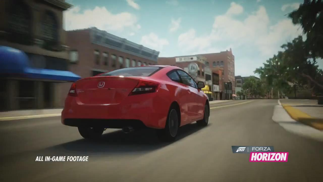Forza Horizon: Honda Challenge Car Pack Trailer screenshot 3