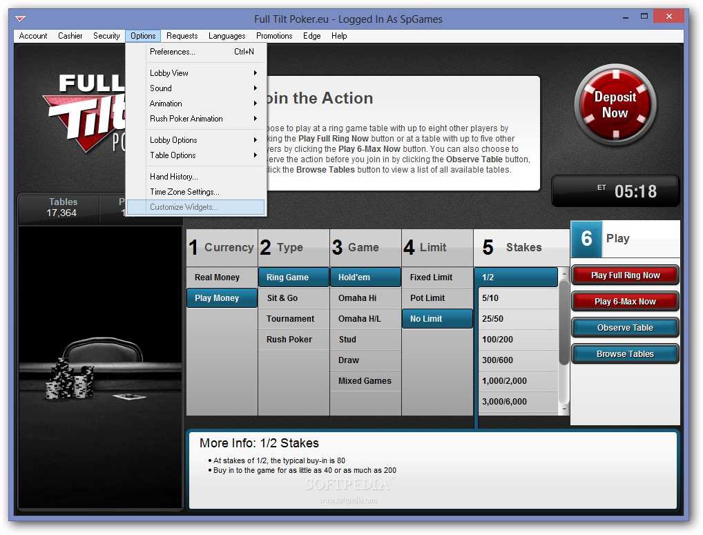 download full tilt poker for mac os x