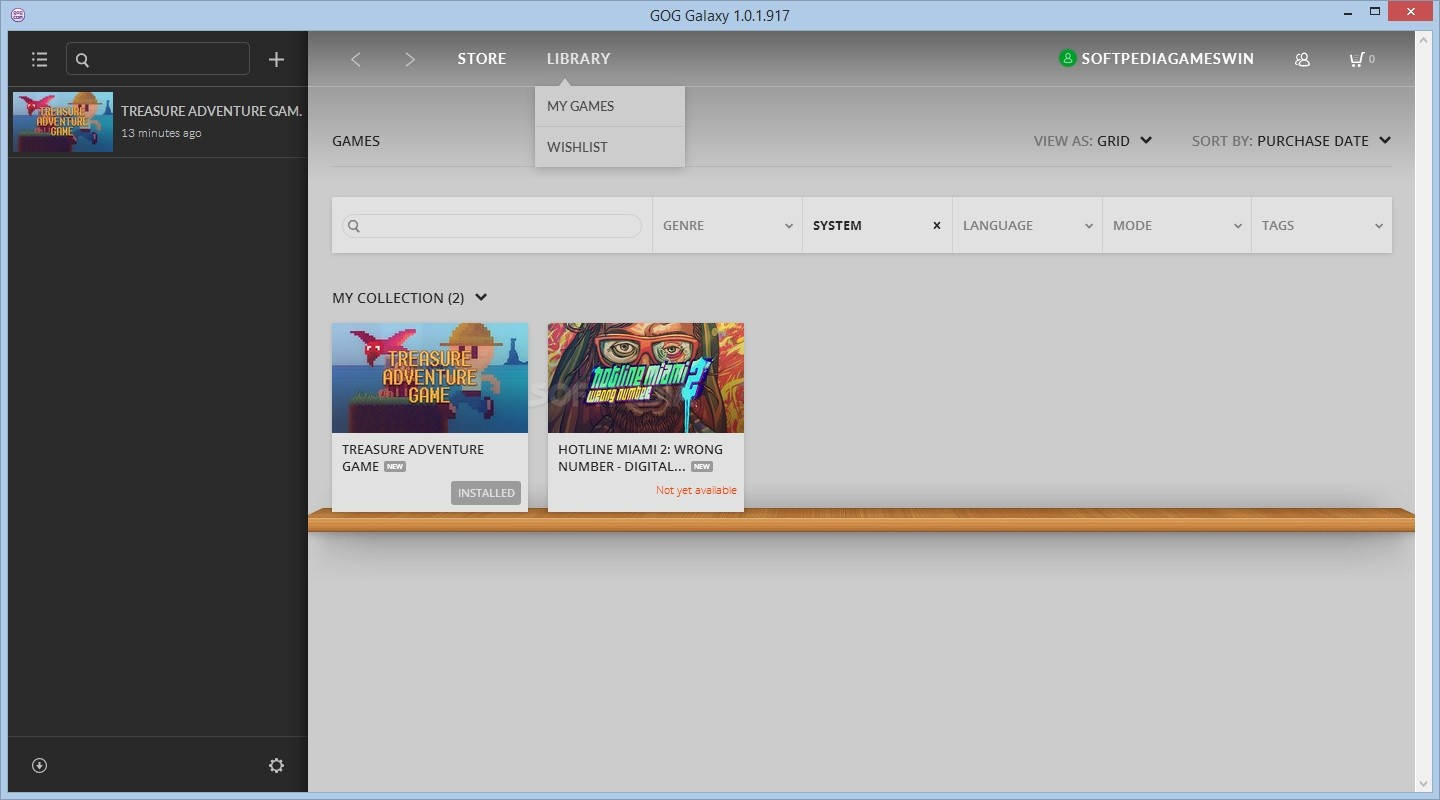 how to get gog galaxy to update cracked games