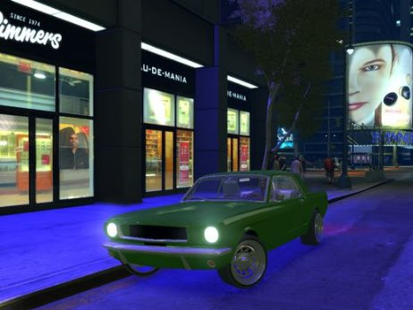 GTA IV Addon - 1965 Ford Mustang screenshot 1