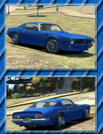 GTA IV Addon - 1970 Pontiac Trans Am screenshot 1