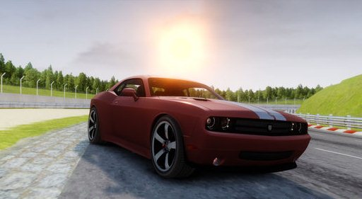 GTA IV Addon - 2011 Dodge Rampage Challenger screenshot 1