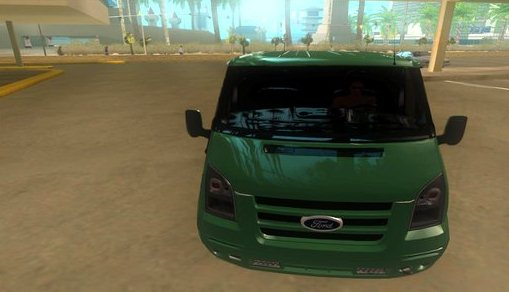 GTA IV Addon - 2011 Ford Transit Sportback screenshot 1