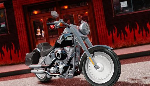 GTA IV Addon - 2013 Harley Davidson Softail Fat Boy screenshot 1