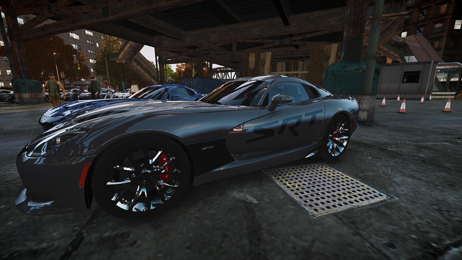 GTA IV Addon - 2013 SRT Viper Paintjob screenshot 3
