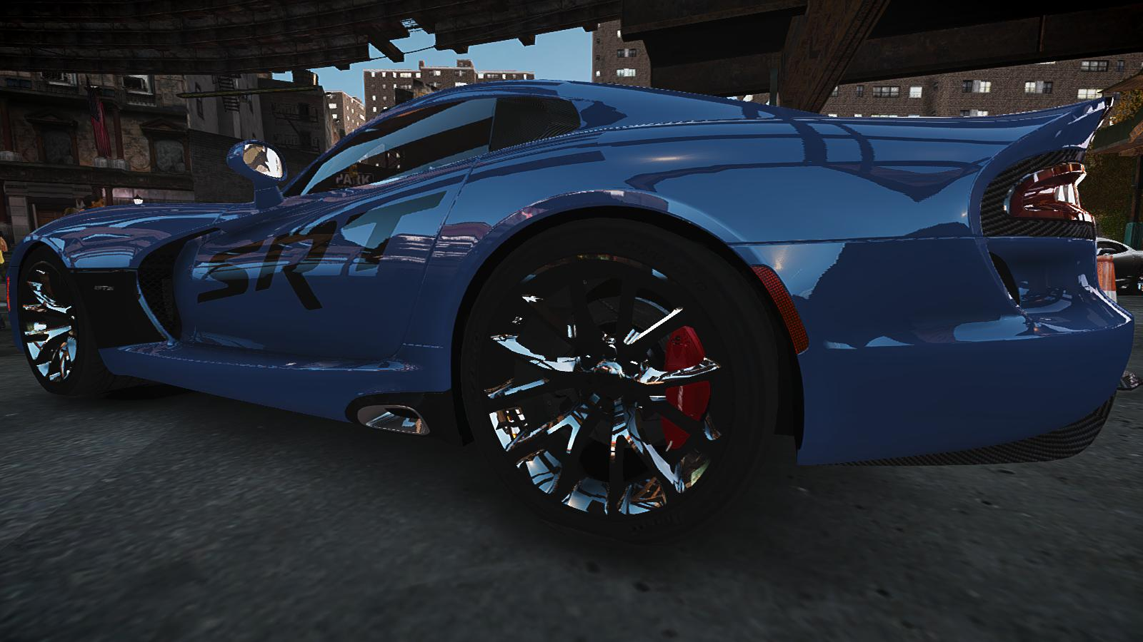 GTA IV Addon - 2013 SRT Viper Paintjob screenshot 4
