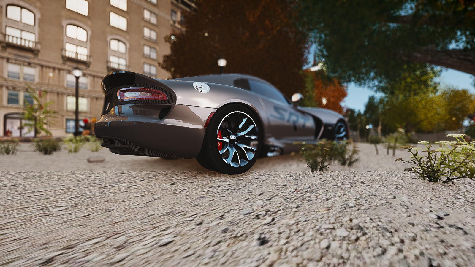 GTA IV Addon - 2013 SRT Viper Paintjob screenshot 5