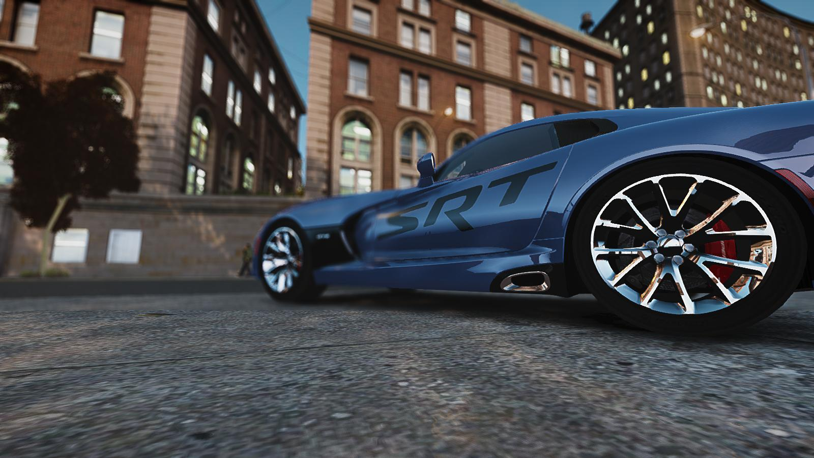 GTA IV Addon - 2013 SRT Viper Paintjob screenshot 7