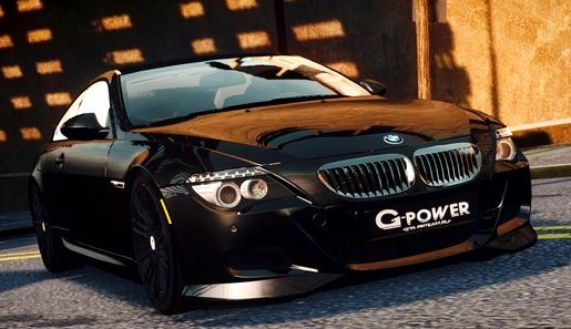 GTA IV Addon - BMW M6 G-Power Hurricane RR screenshot 1