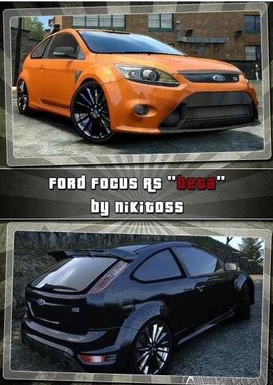 GTA IV Addon - Ford Focus RS screenshot 1