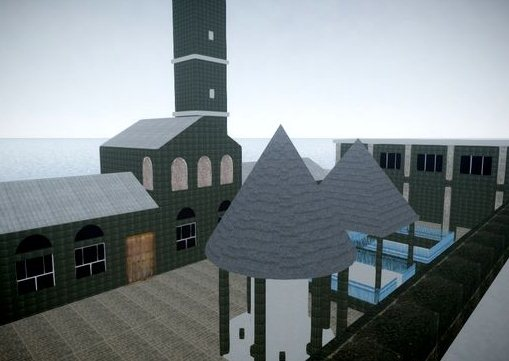 GTA IV Addon - Grand Mosque of Diyarbakir screenshot 1