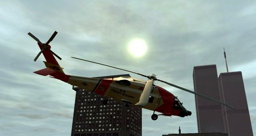 GTA IV Addon - HH-60J Jayhawk screenshot 1