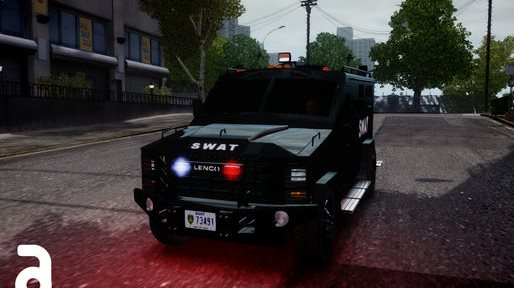 GTA IV Addon - Lenco Bearcat SWAT screenshot 1