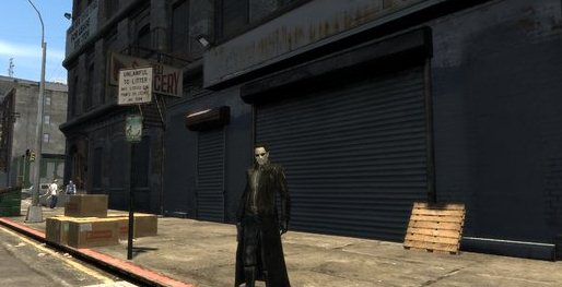GTA IV Addon - Matrix Neo Keanu Reeves screenshot 1