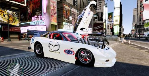 GTA IV Addon - Mazda RX7 Dragster screenshot 1