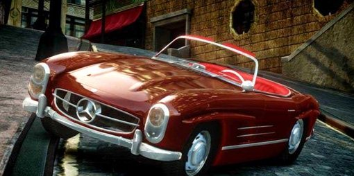 GTA IV Addon - Mercedes Benz 300 SL Roadster screenshot 1