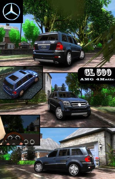 Screenshot 1 of GTA IV Addon - Mercedes Benz GL500 AMG 4Matic