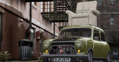 GTA IV Addon - Mini Cooper Mr. Bean screenshot 1