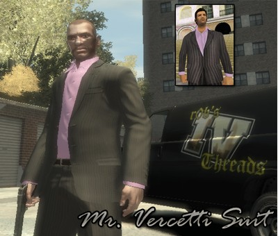 GTA IV Addon - Mr. Vercetti Suit screenshot 1