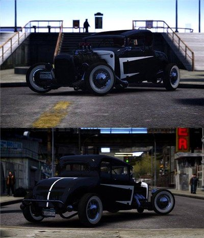 GTA IV Addon - Smith 34 Hot Rod screenshot 1