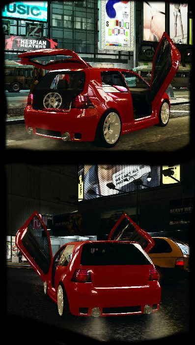 GTA IV Addon -	VW Golf IV Clean Tuning screenshot 1