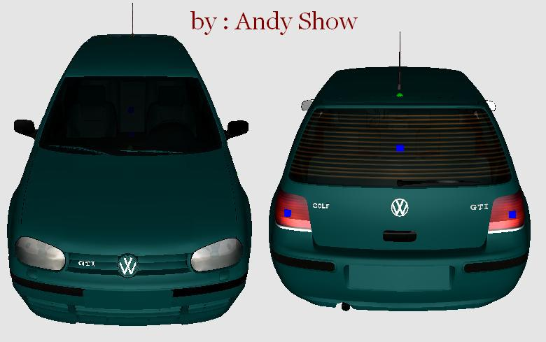 GTA IV Addon - Volkswagen Golf GTI screenshot 1