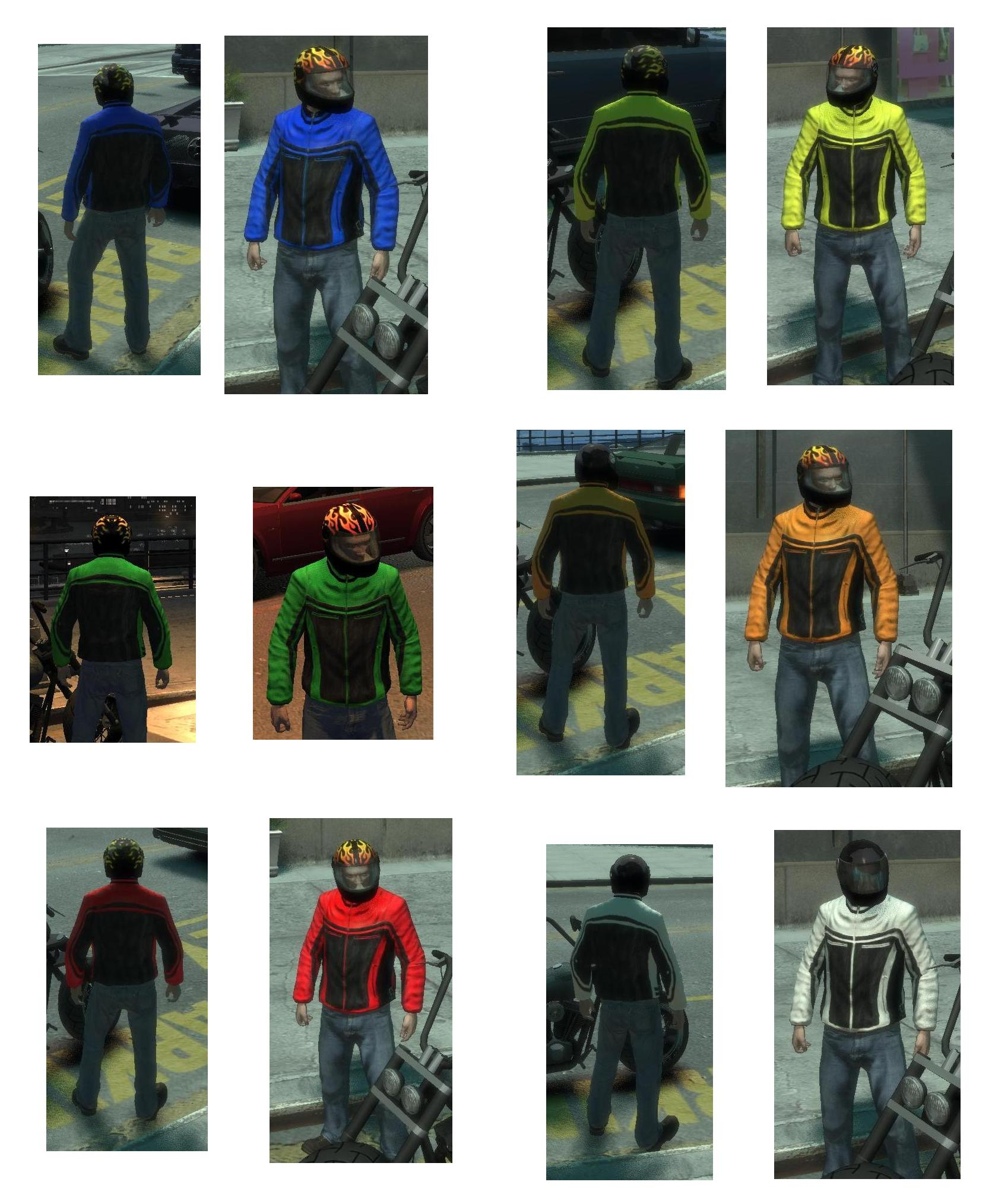 GTA IV Addon - Lederjacken Pack screenshot 1