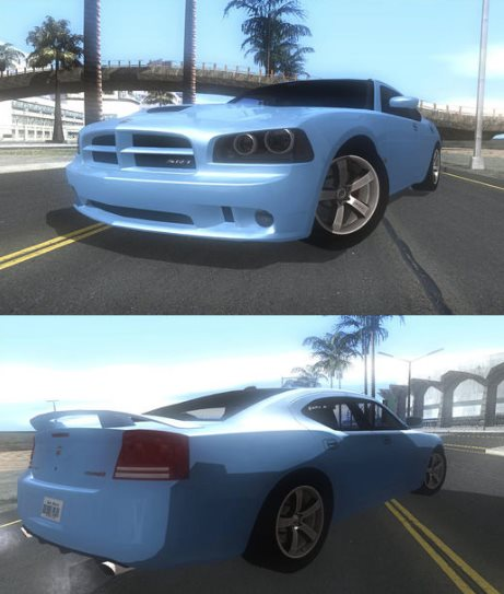 GTA: San Andreas Addon - 2007 Dodge Charger SRT8 Super Bee screenshot 1