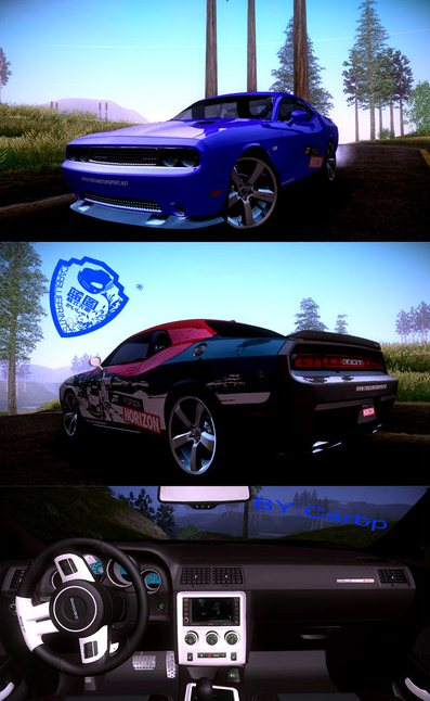 GTA: San Andreas Addon - 2010 Dodge Challenger SRT8 392 Screenshots ...