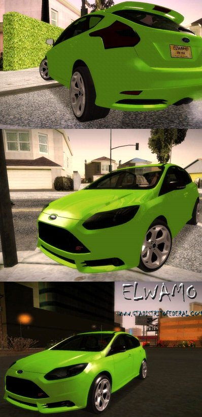 GTA: San Andreas Addon -	2013 Ford Focus screenshot 1