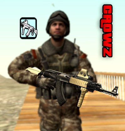 GTA: San Andreas Addon -	Ak47 with Holographic Sight screenshot 1