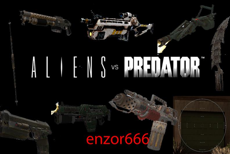 Gta: san andreas addon - aliens vs predator 3 screenshot 1