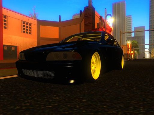 GTA: San Andreas Addon -	BMW M5 screenshot 1