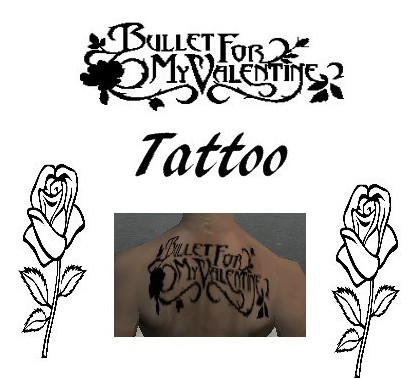 Tatto Games on Addon   Bullet For My Valentine Tattoo Screenshots  Screen Capture