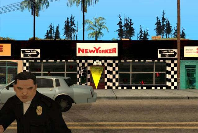 GTA San Andreas Clothing Store