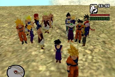descargar mod de goku para gta san andreas pc