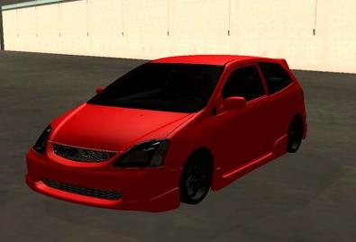 GTA: San Andreas Addon - Honda Civic Type-R screenshot 1