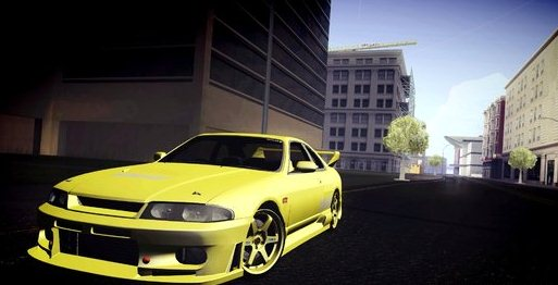 "GTA: San Andreas Addon -	JUN ""Super Lemon"" Nissan Skyline GTS R33 screenshot 1"