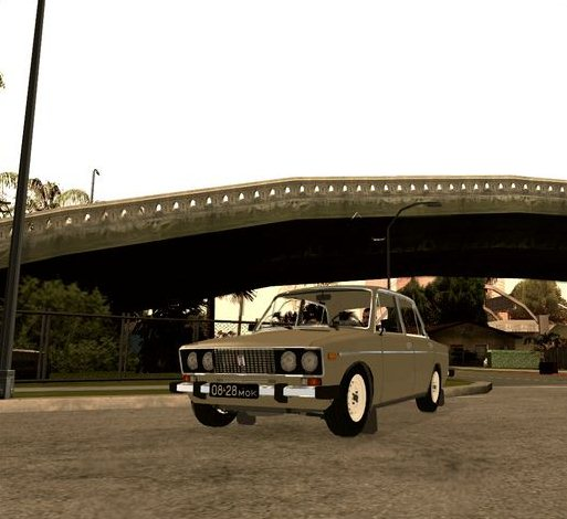 GTA: San Andreas Addon -	Lada 2106 screenshot 1