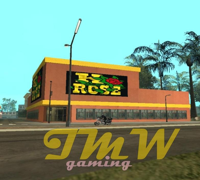 GTA: San Andreas Addon - Little K Rose Building screenshot 1