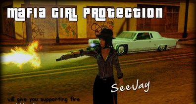 GTA: San Andreas Addon -	Mafia Girl Protection screenshot 1