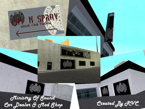 ... GTA: San Andreas Addon - Ministry Of Sound Car Showroom and Mod Shop