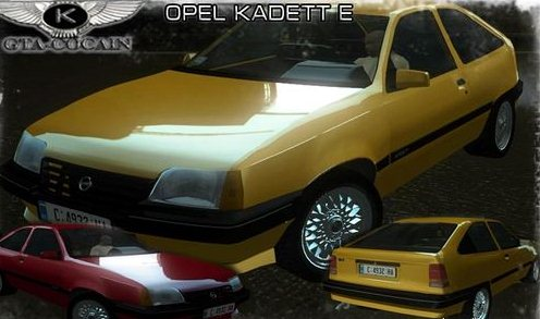 GTA: San Andreas Addon -	Opel Kadett E screenshot 1