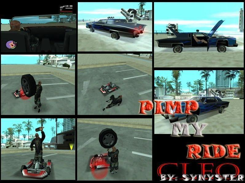 Virtual pim my ride