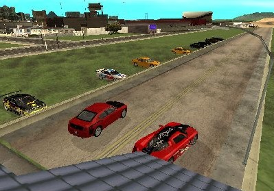 Auto Racing Links Race Tracks on Gta  San Andreas Addon   Race Track Screenshots  Screen Capture