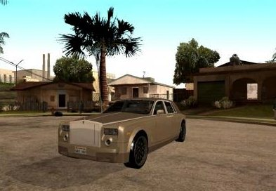 GTA: San Andreas Addon -	Rolls Royce Phantom V16 Black Revel screenshot 1