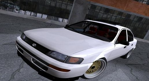 GTA: San Andreas Addon -	Toyota Corolla German Style screenshot 1